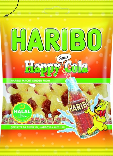 #1775 HARIBO HAPPY COLA SOUR 24X100G
