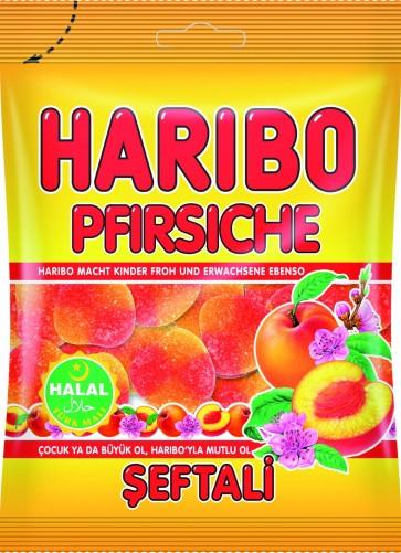 #1764 HARIBO PEACHES 24X100G