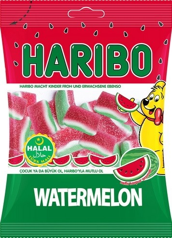 #1767 HARIBO WATERMELON 24X80G