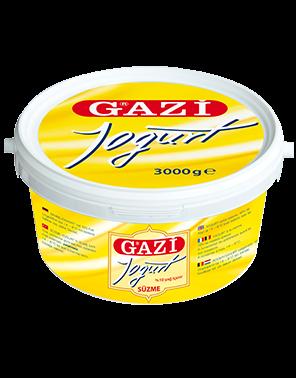 #1247 GAZI SUZME JOGHURT 10% 3KG 1X3000G