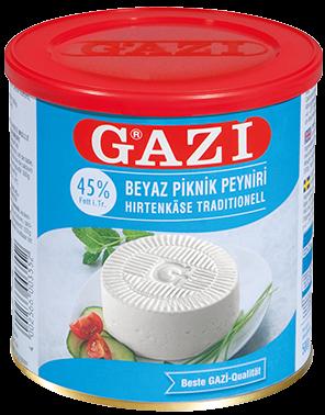 #1286 GAZI HIRTENKASE 45%  6X500G