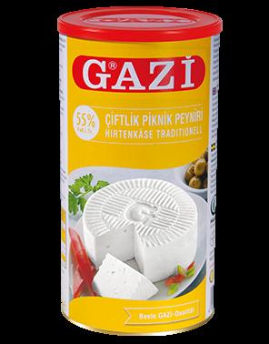 #1304 GAZI HIRTENKASE 55%   6X800G