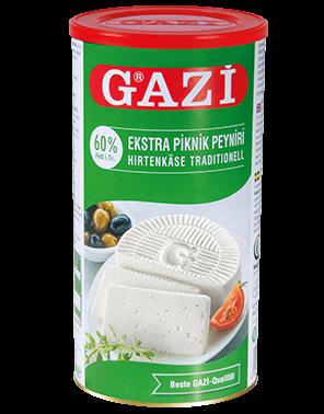 #1308 GAZI HIRTENKASE 60%   6X800G
