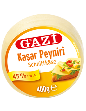 #1310 GAZI KASCHKAVAL 45% 12X400G