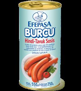 #1435 EFEPASA BURCU GESCHAELT HAEHNCHENWURST 12X250G