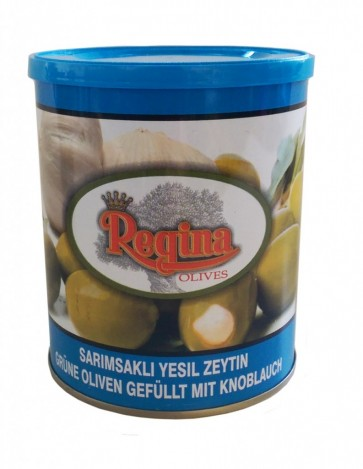#1535 REGINA GRUNE OLIVEN GEF. M. KNOBLAUCH 12X400G