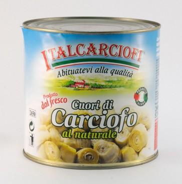 #2551 ITALCARCIOFI ARTISCHOCKEN RUND IN OL 1X3/1DOSE