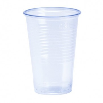 #2885 TRINKBECHER 0,2L TRANSPARENT 30X100 30X100ADET