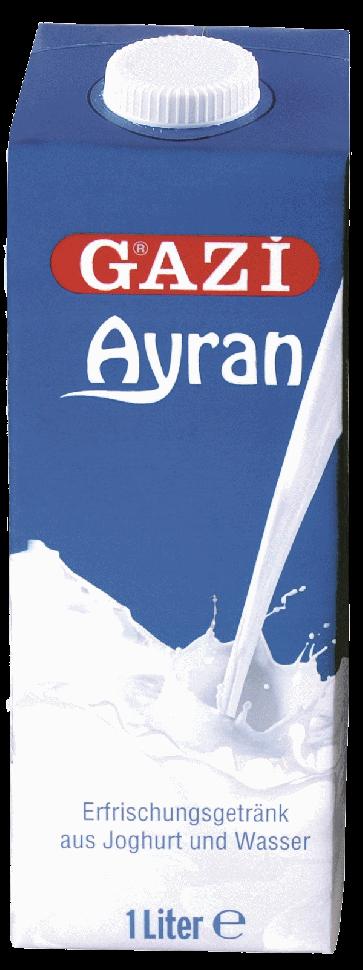 #4424 GAZI AYRAN 10X1L 10X1000ML