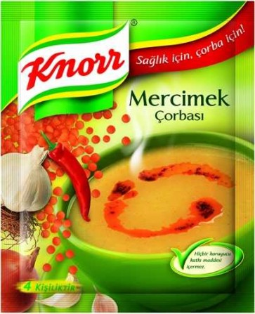 #5018 KNORR LINSENSUPPE 6X12G