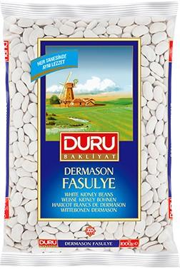 #659 DURU DERMASON TROCKEN BOHNEN 8MM 12X1000G