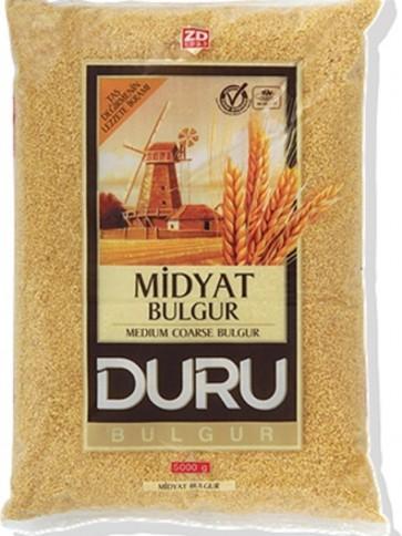 #909 DURU MIDYAT BULGUR (INCE PILAVLIK WEIZENGRUTZE) 6X2500G