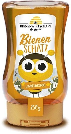 #2670 Bienenwirtschaft Meißen  BienenSchatz Linde 10x250g Spender
