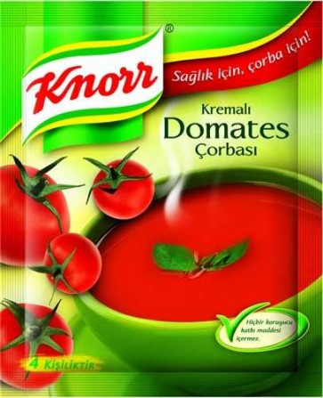 #5015 KNORR DOMATES CORBASI 18x68g