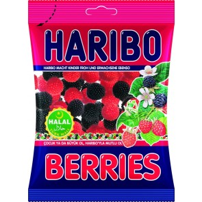 #1770 HARIBO BERRIES 24X80G