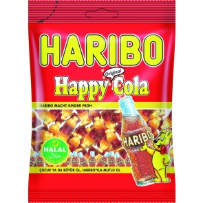 #1772 HARIBO HAPPY COLA FRUCHTGUMMI 24X100G