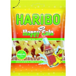 #1775 HARIBO HAPPY COLA SOUR 24X100G