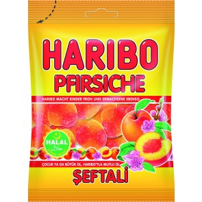 #1764 HARIBO PEACHES 24X100G