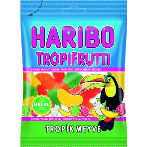 #1763 HARIBO TROPIFRUTTI  24X100G