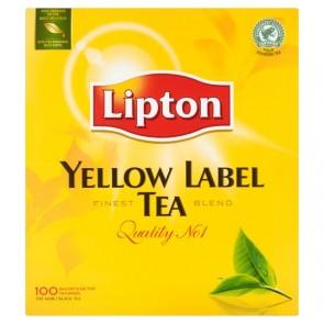 #1079 LIPTON TEE YELLOW 100 BEUTEL 10X200G
