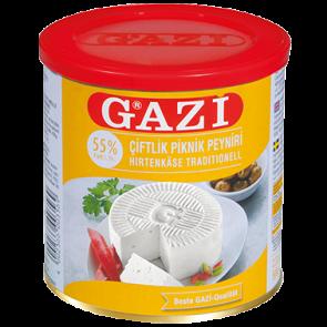 #1287 GAZI HIRTENKASE 55%  6X500G