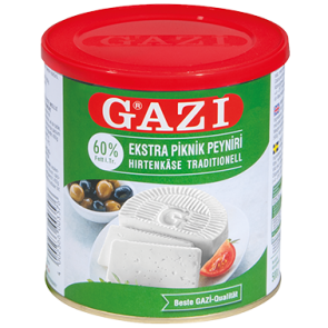 #1288 GAZI HIRTENKASE 60%  6X500G
