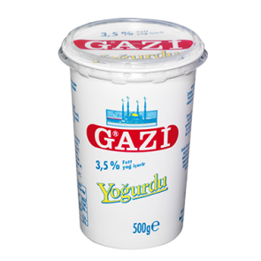 #1329 GAZI JOGHURT 3,5% BECHER 12X500G
