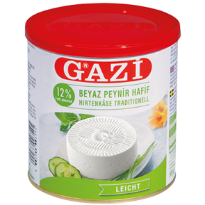 #1369 GAZI HIRTENKASE LIGHT 30%  6X500G