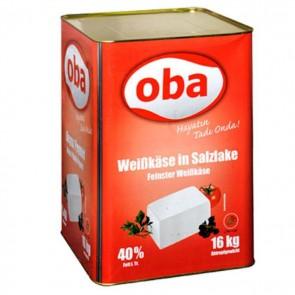 #1370 OBA WEISSKASE RED 40% 1X16000G