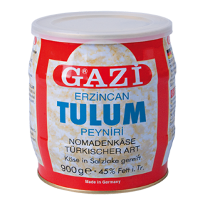 #1387 GAZI TULUM NORMADENKASE 45%  FASS 6X900G