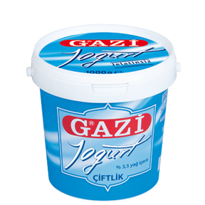 #1397 GAZI CIFTLIK JOGHURT 3,5% EIMER 6X1000G