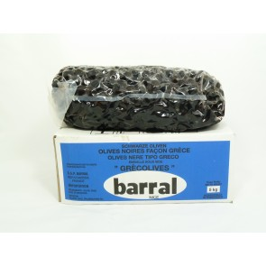 #1509 BARRAL SCHWARZE OLIVEN 19-22ST 5X5000G