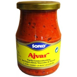 #1721 SOFKO AJVAR  12X720ML