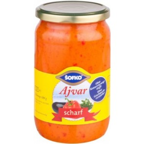 #1804 SOFKO AJVAR 12X720ML