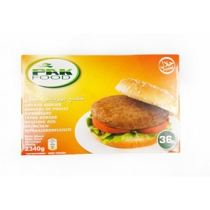 #6040 PAK FOOD HAMBURGER 36X70G