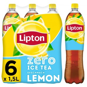#2775 LIPTON ICE TEA LEMON ZERO 6x1,5L DPG