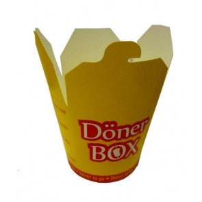 #2824 DONERBOX DONERBOX 710ML 10X50ADET