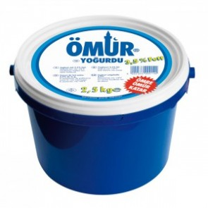#5120 OMUR YOGURT 3,5% 1X2500G