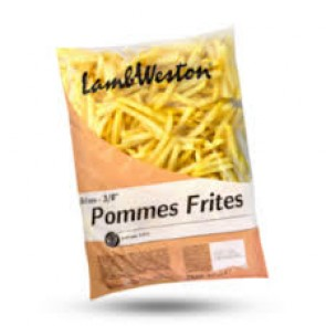 #6043 LAMBWESTON POMMES 9X9 TK REGULAR 4X2500G