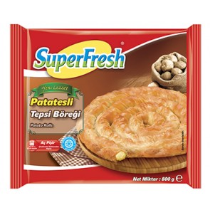 #6717 SUPERFRESH PATATESLI BOREK 12X800G