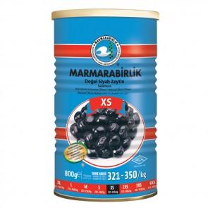 #8935 MARMARABIRLIK SCWARZE GEMLIK OLIVEN EXTRA (SX) 12X800G