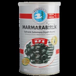 #8937 MARMARABIRLIK SCWARZE GEMLIK OLIVEN SUPER (M) 12X800G