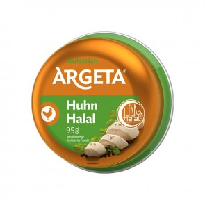 #982 ARGETA HUHNERPASTETE HELAL 12X95G