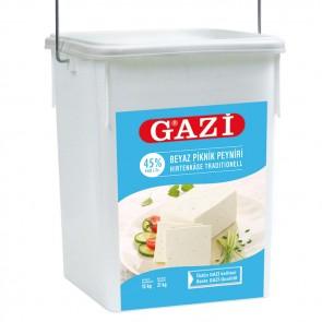 #1312 GAZI HIRTENKASE %45 1x15KG