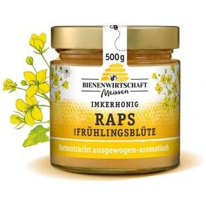 #2667 Bienenwirtschaft Meißen  Raps-Frühlingsblüte 10x500g Glas